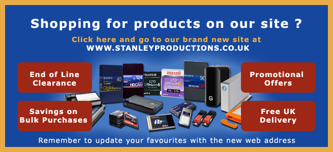 Stanley Productions new website image